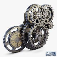 gear mechanism v 3 model