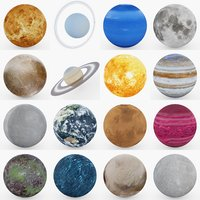 Photorealistic Planet Collection