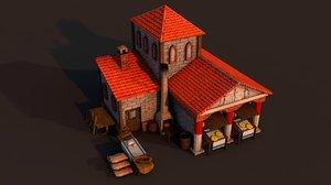 rome bakery 3D