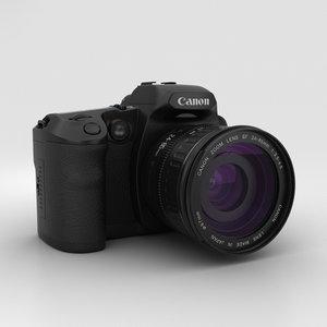 3D canon eos d30