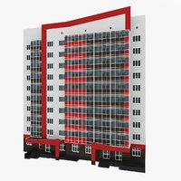 residential house building 11 model