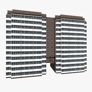 residential house building 6 3D model