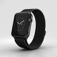 apple watch space 3D