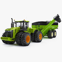 3d heavy john deere 9620r model