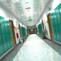 Schooll Hallway