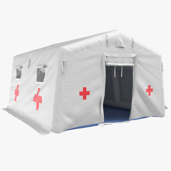 quarantine tent 3D