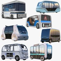 Large Electric Buses Collection