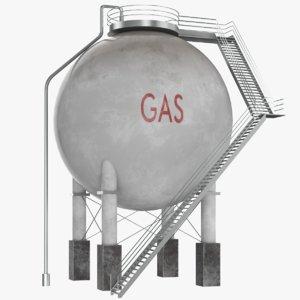 3D oil tanks