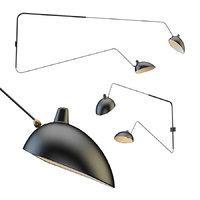serge lamp sconce model