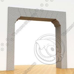portal leonardo vinci 3D model