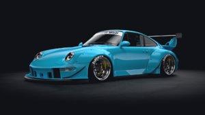porsche 911 993 3D model