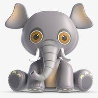Toy Elle Elephant