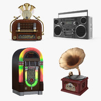 Retro Audio Devices Collection