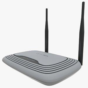tp-link router 3D model