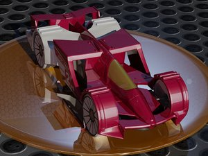 3D hot wheels epic