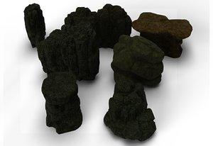 cliffs 3D model