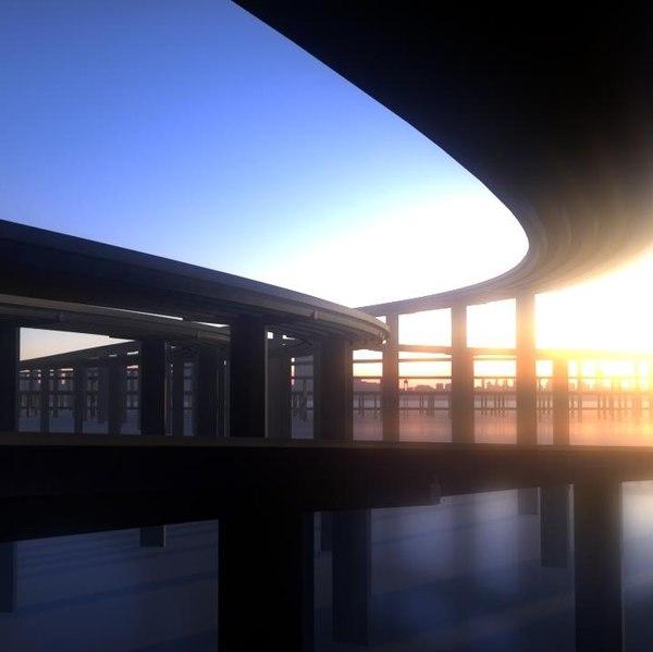 3D freeway