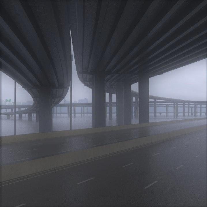 3D model freeway