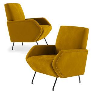 tosconova lena armchair 3D model
