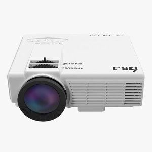 3D projector dr j 4inch