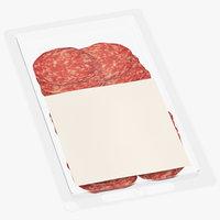 3D model meats packaging 02 01