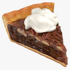 pecan pie slice model