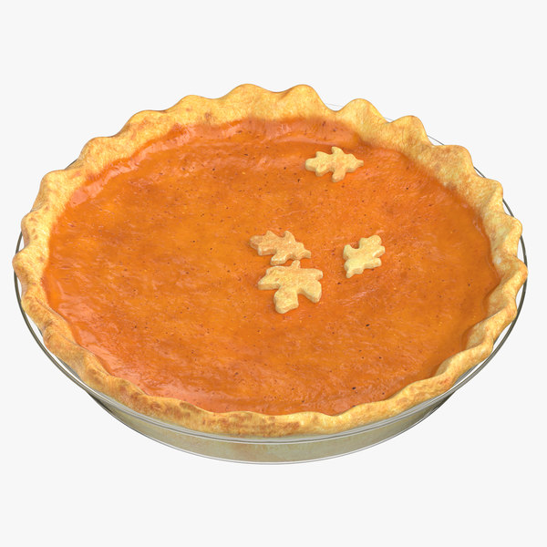 pumpkin pie 01 model