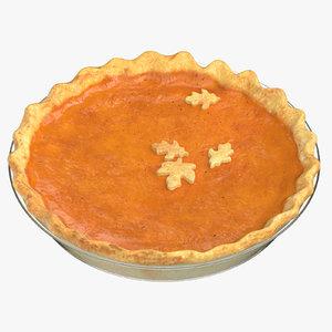 pumpkin pie 01 model