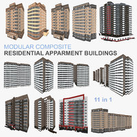 3D residential buildings