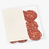 meats packaging 3D model