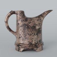 3D old kettle model