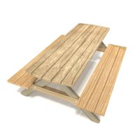 picnic table benches model