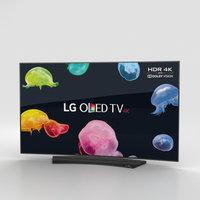 LG 55 OLED TV C6 OLED556V