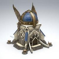 odin castle 3D model