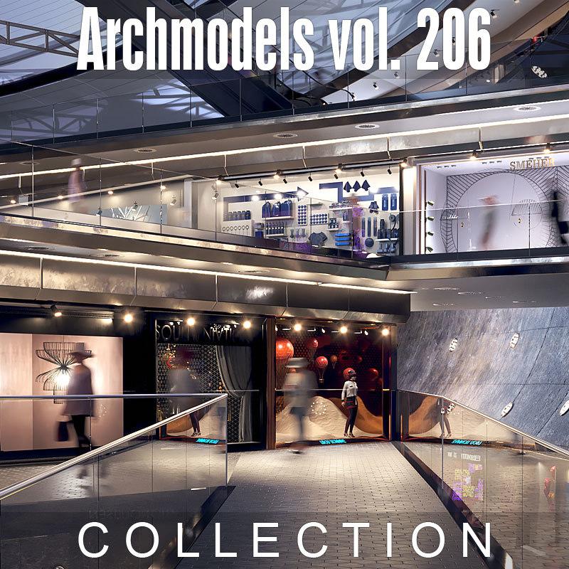 3D archmodels vol 206 model