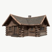 Wooden House 001
