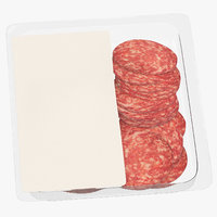 meats packaging 02 04 3D model