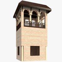 3D islamic building model
