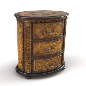 3D chest drawer model