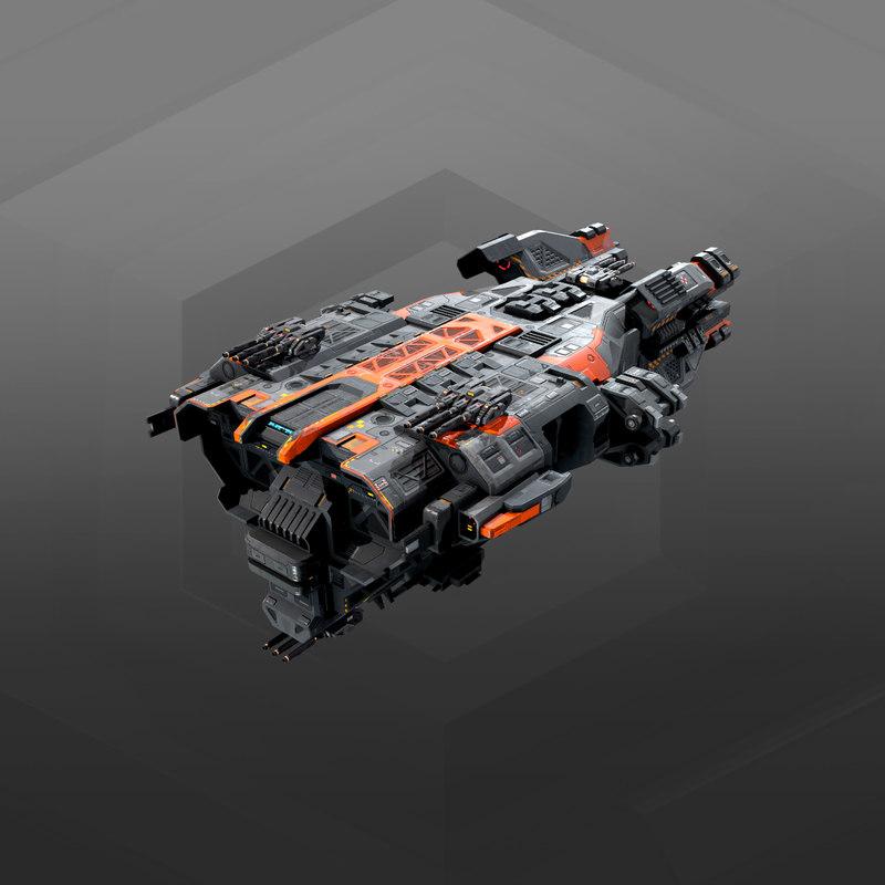 3D destroyer federation