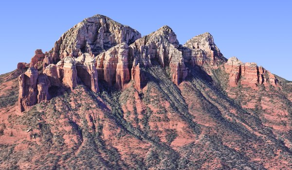 nature arizona mountains hd model