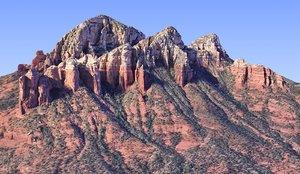nature arizona mountains hd model