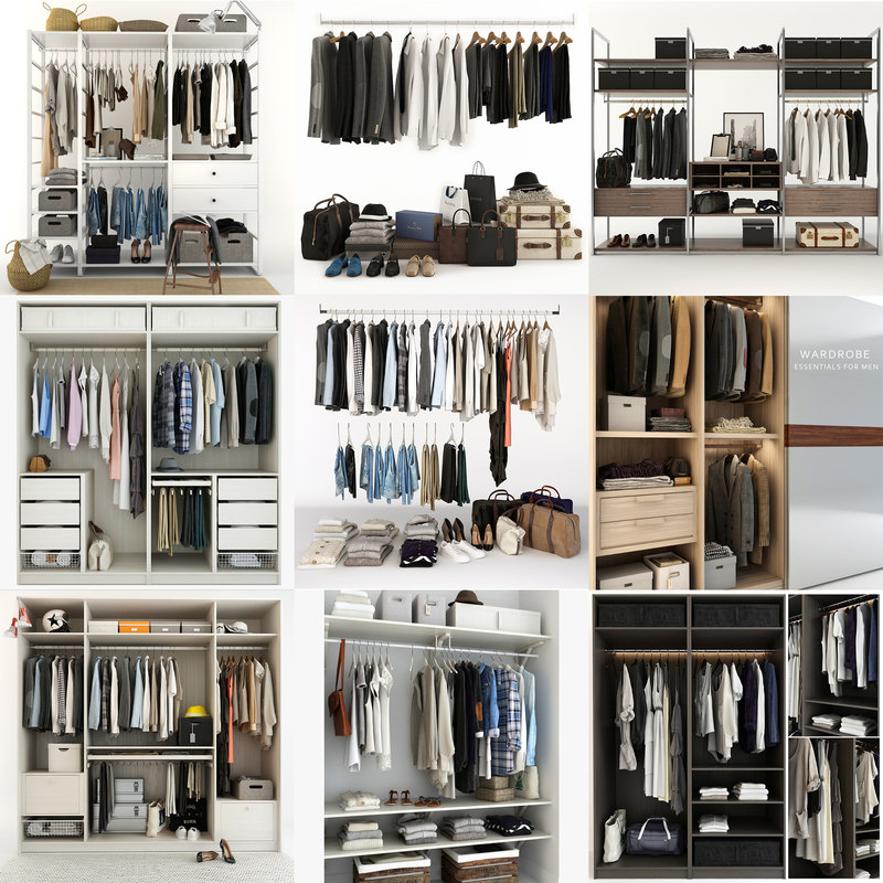 9 large collections clothes model