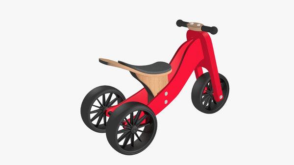wooden bike model