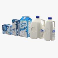 milk dairy 3D model