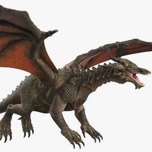 dragon rig 3D model
