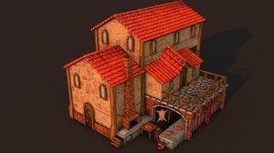3D rome butcher
