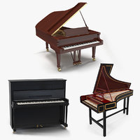 3D musical keyboard instruments 2