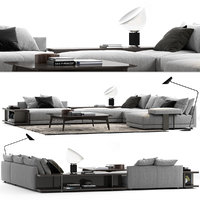 Poliform Bristol Sofa Set A