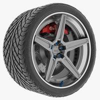 Wheel 5 Track Spec